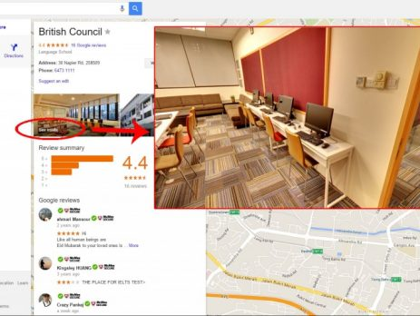 Google Business View benefits to Customers